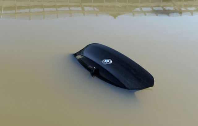 German cars underwater