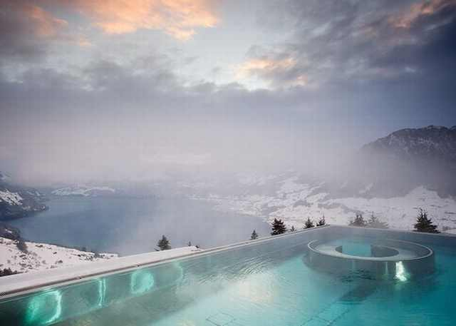 winter pools