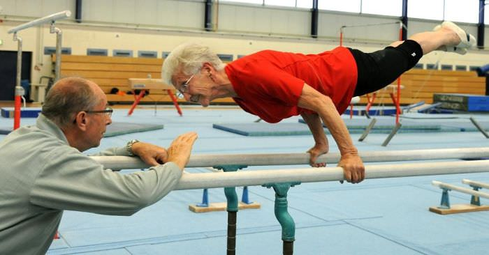 86 Year Old Gymnast
