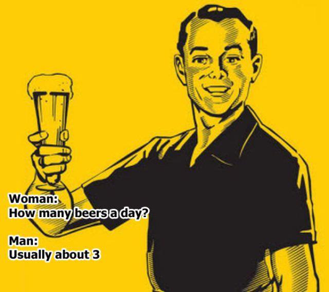 man's logic funny