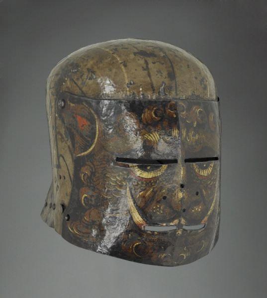 armored helmets