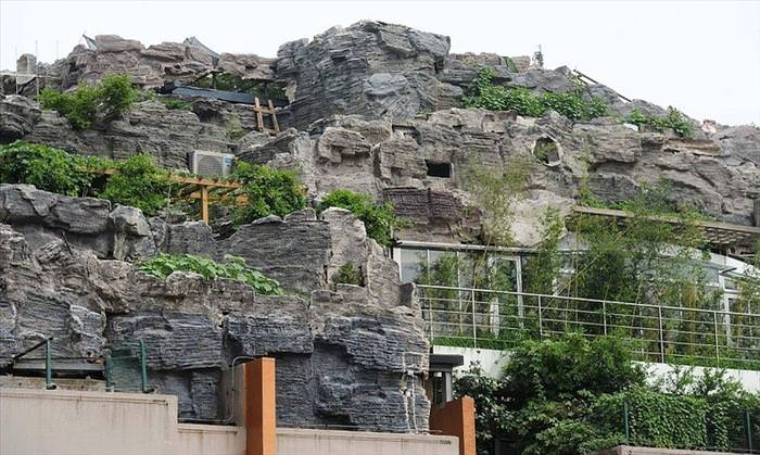 mountain on the roof