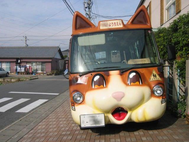 japanese school bus