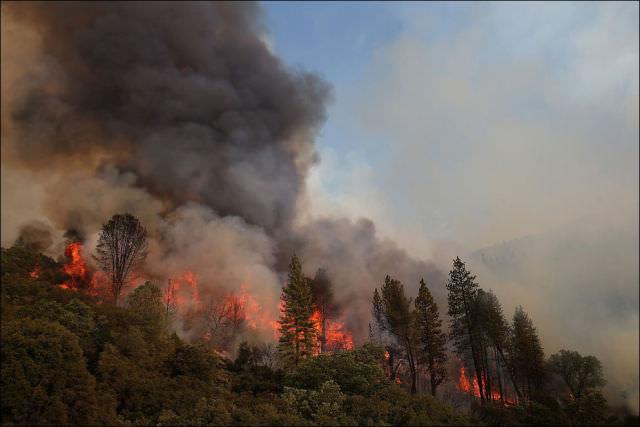 yosemite fires