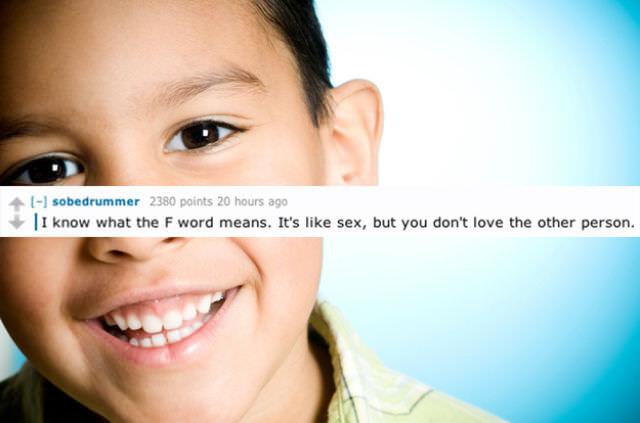 stuff kids say