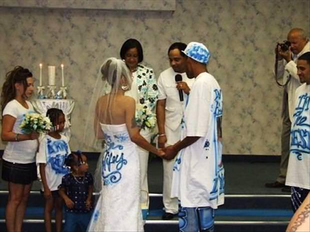 bad wedding dress
