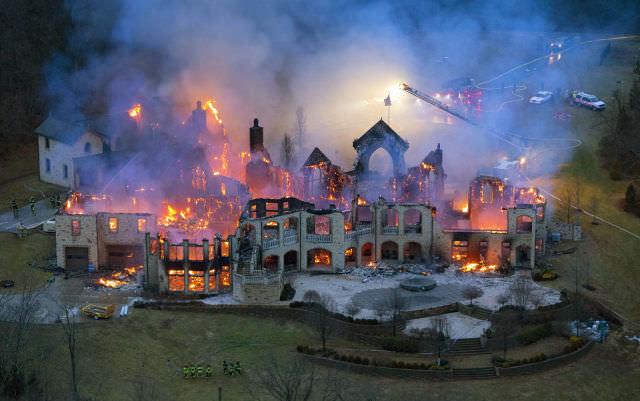 serie de fotos sobre desastres