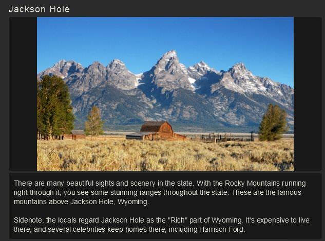Photo of Wyoming