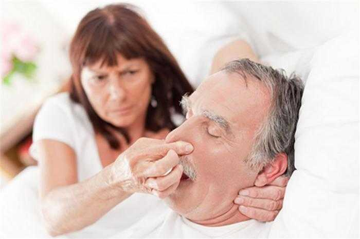 Image result for snoring old husband