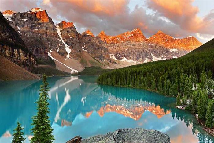 colorful places