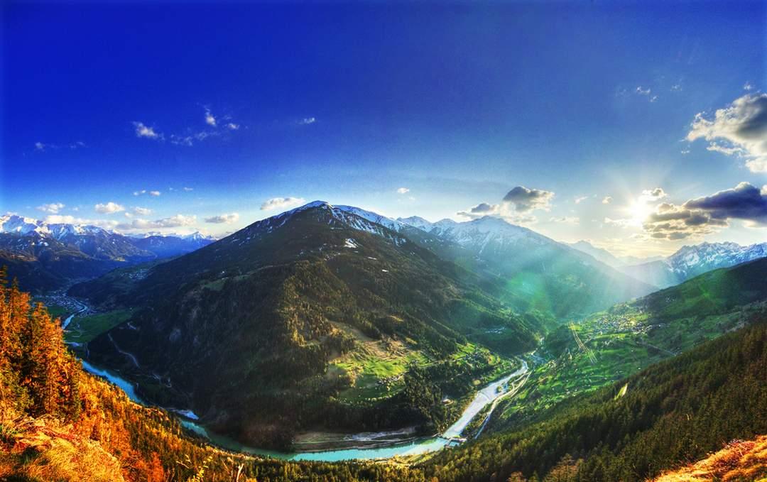 paysage magnifique nice
