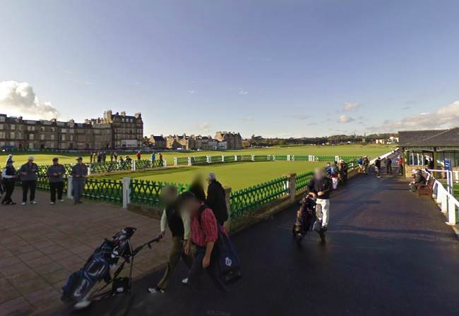 12 Google Street View Places