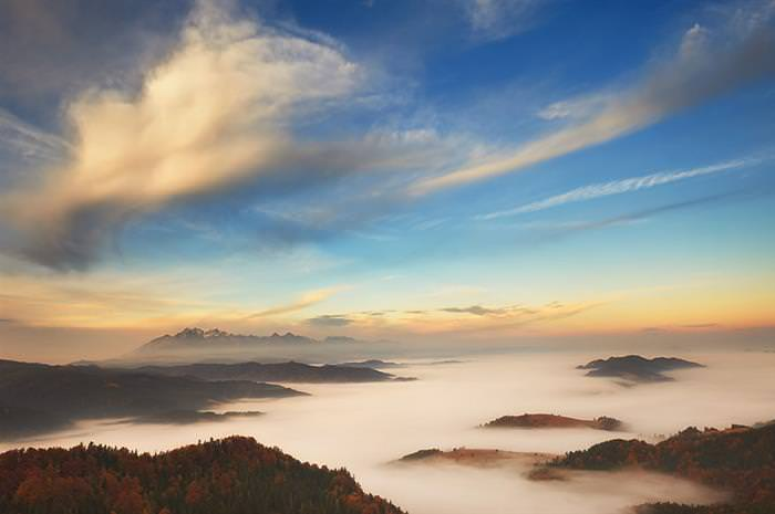 Breathtaking Views of The Tatra Mountains in Poland