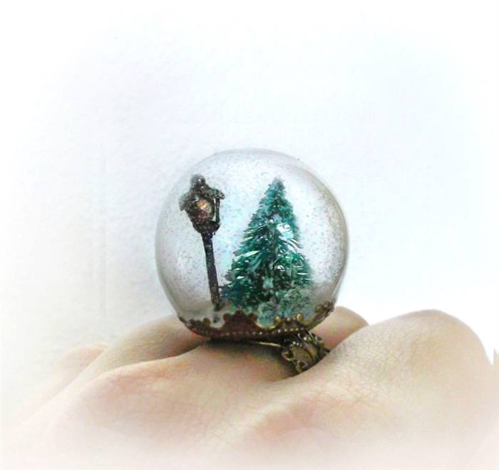 20 Glass Globe Rings That Will Leave You Dazzled!