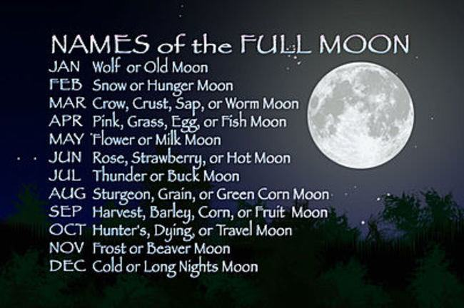 how many full moons in a month - photo #15