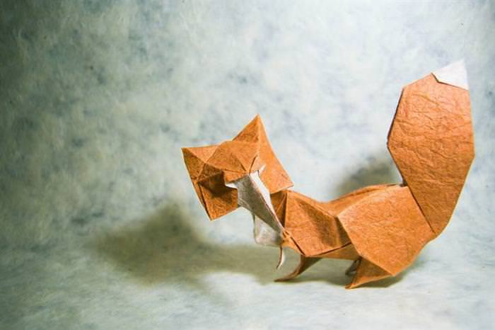15 Examples of Origami Art