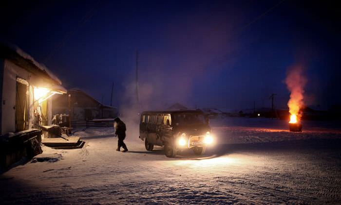The coldest Village on Earth