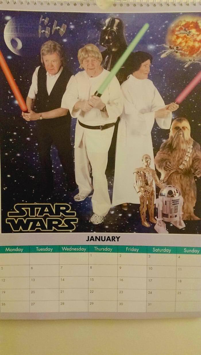 Retirement Center Movie Calendar