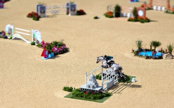 tilt shift photo