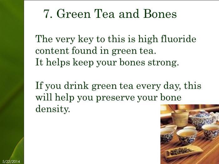 25 reasons to drink green tea