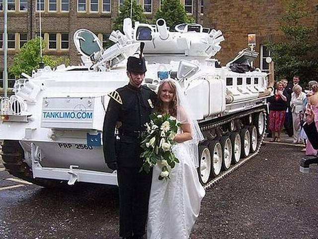 Crazy wedding vehicles | Funny   BabaMail