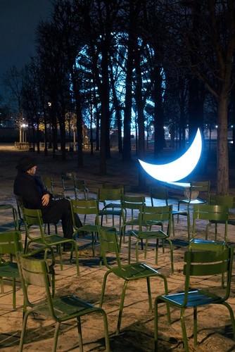 moon on earth