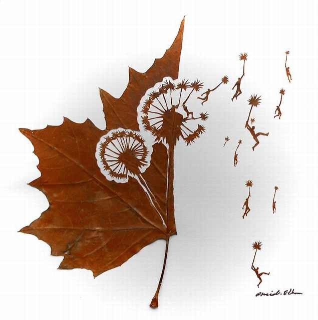 Ever Heard of Leaf-Sculptures?