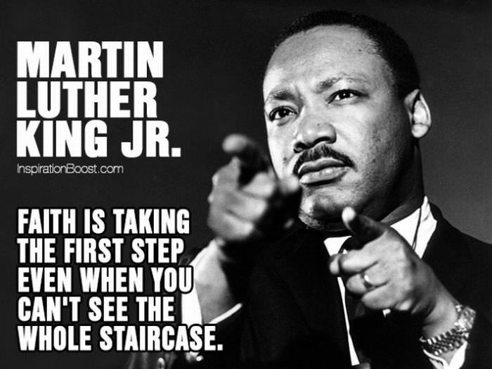 martin luther king jr inspired all to rise above