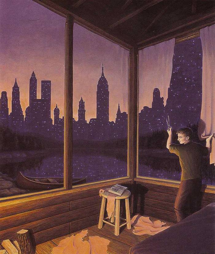 rob gonsalves surreal