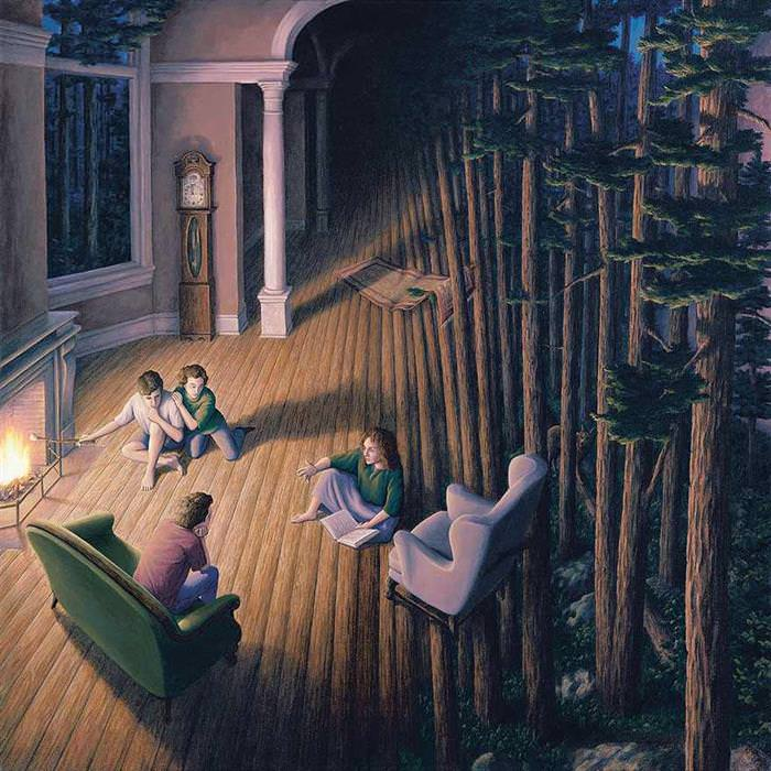 robert gonsalves s misleading and strange painting art babamail