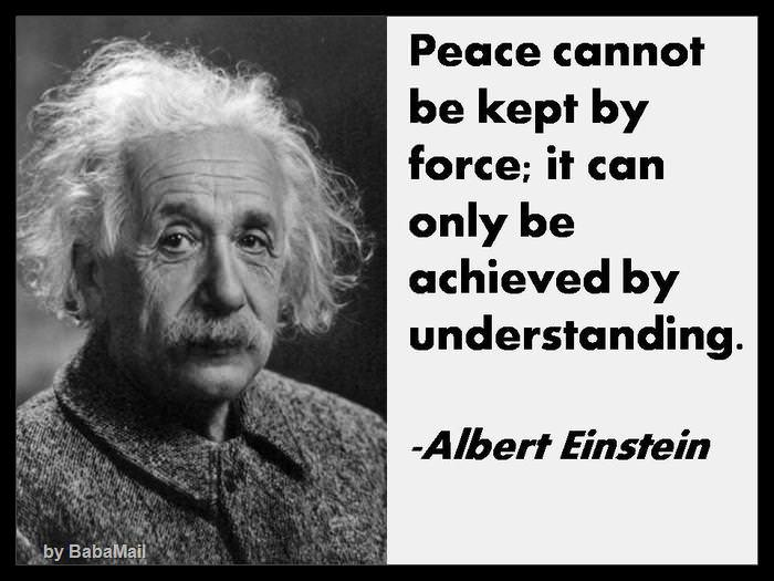 Image of: Creativity Peace Quotes Quote Ideas Quotes About Peace By Famous People Spirituality Babamail