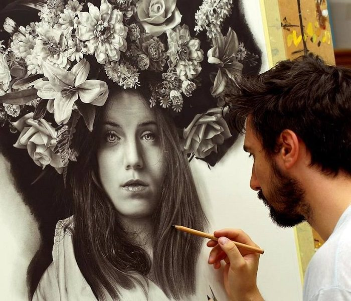 The HyperRealistic Art Of Emanuele Dascanio Art BabaMail - Artist creates stunning hyper realistic paintings of women