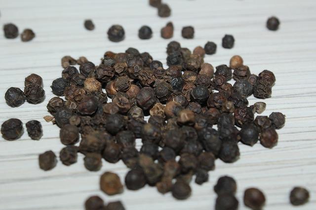 Usos alternativos de la pimienta negra