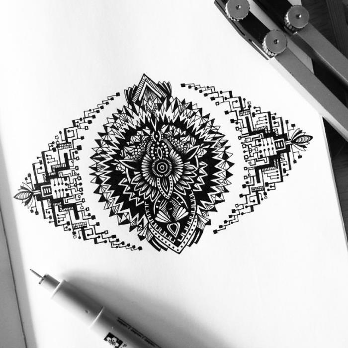 Hand-Drawn-Increible-Art