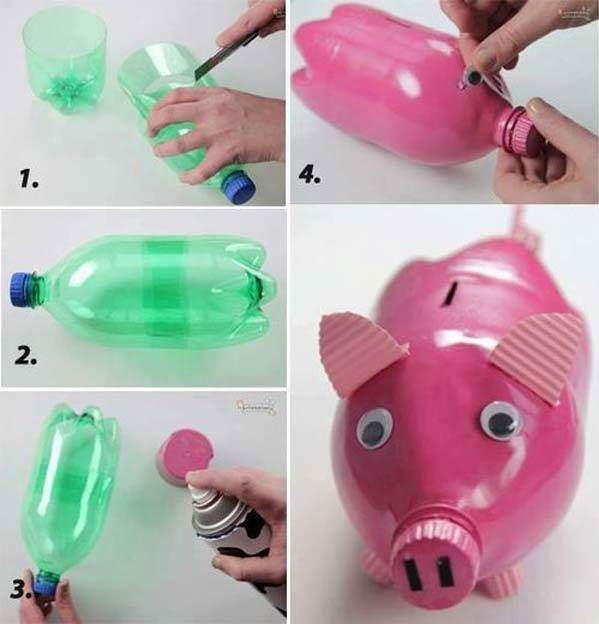 DIY 12 New Uses For Plastic Bottles