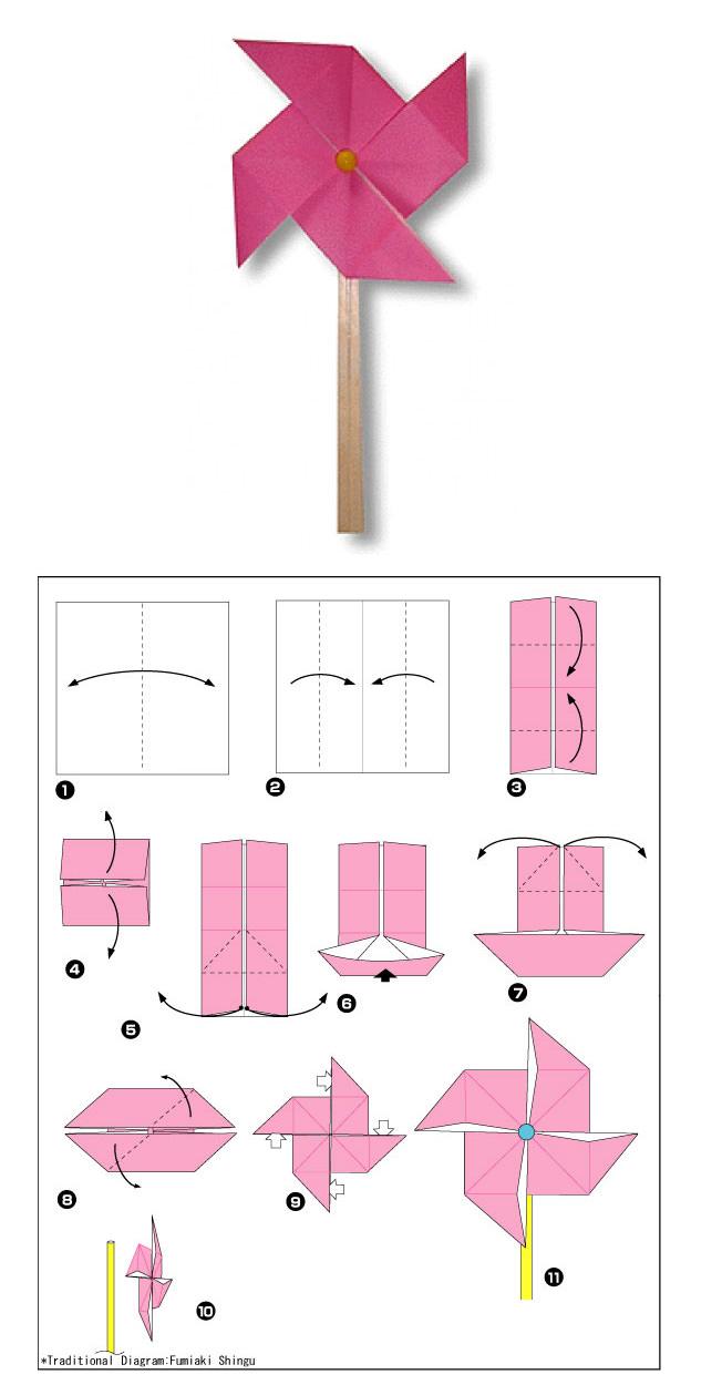 Как сделать поделки из бумаги Очень простые схемы оригами для начинающих