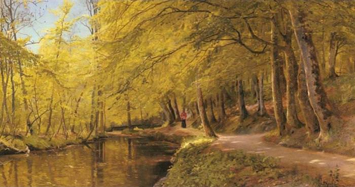 paintings Peder Monsted