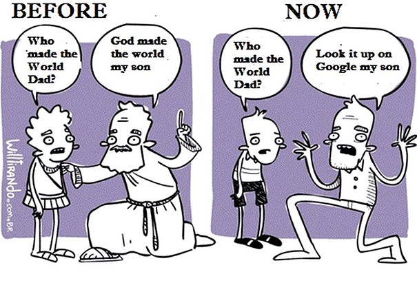 funny cartoons world changes
