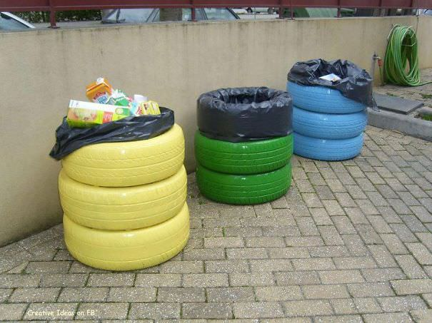 recycled tire ideas