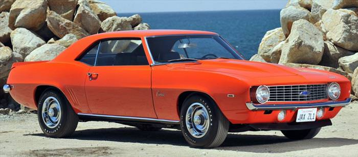 10 Rarest American Muscle Cars