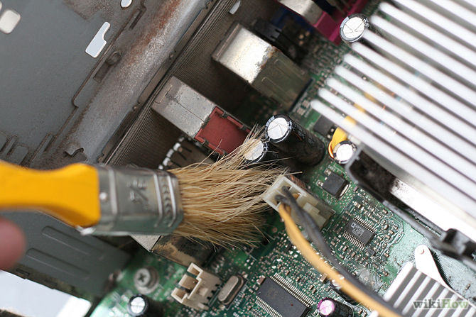 how to clean up your computer