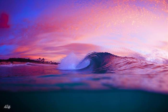 beautiful waves