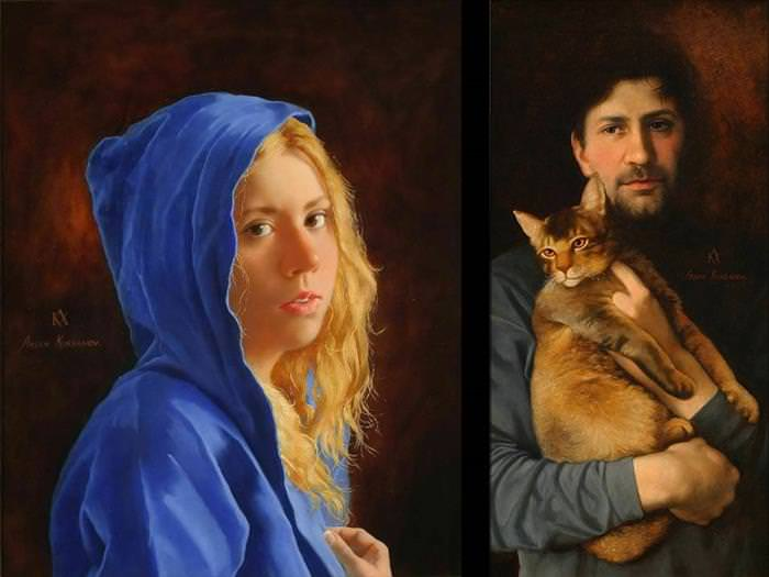Arsen Kurbanov paintings