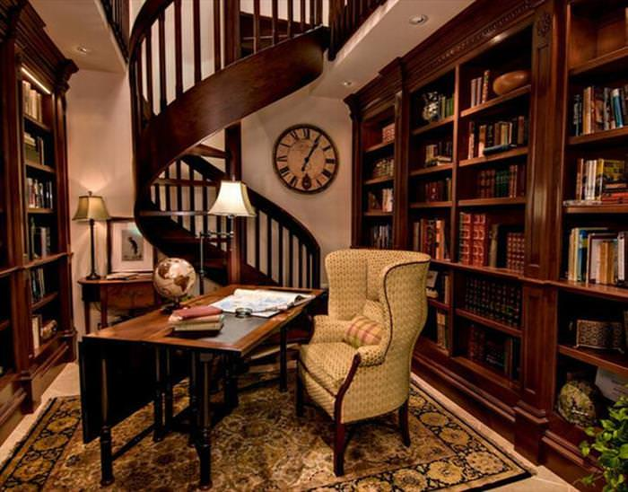 Pictures Of Home Libraries 24 majestic home libraries | design & photography - babamail