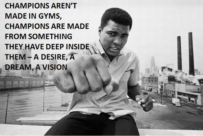 Muhammad Ali's Best Quotes