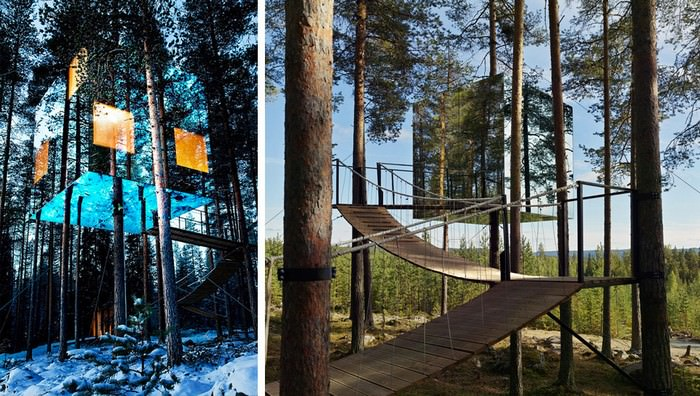 Treehouse Masters Mirrors 16 glorious examples of using mirrors in art | art - babamail