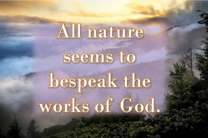 12 Quotes About Nature And God Spirituality Babamail