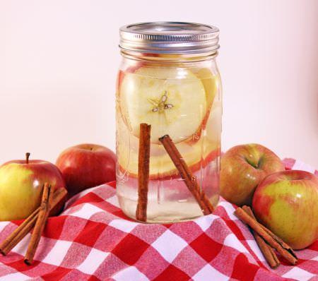 Agua de manzana