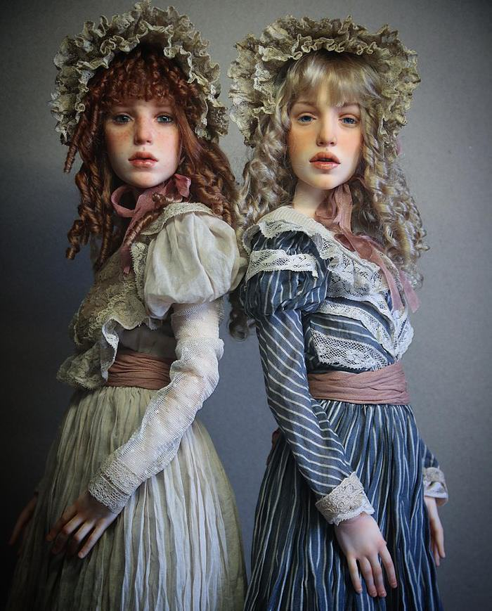 Can We Convince You That These Beautiful Figures are Dolls?
