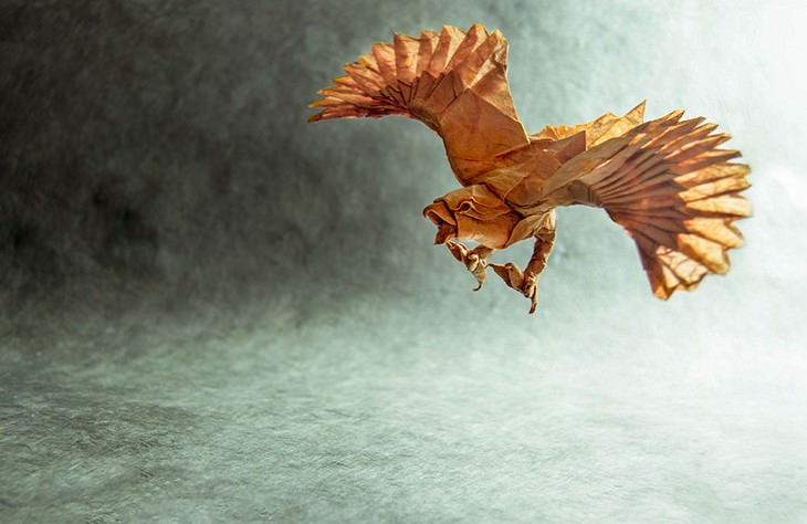 origami animals, paper, art